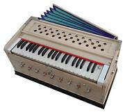 Harmonium With Cover Two Reed3 1/2 Octave Kapler 42 Key9 Stopperbass Male