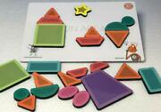 Magnetic Shapes Puzzles Toys For Kids Boys And Girls - 23 Pieces Educational Toy