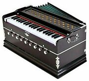 Harmonium With Cover Two Reed Bass Male9 Stopper Kapler 42 Key - 12 Kgs