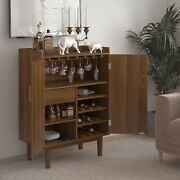Wine Cabinet Bar Countertop Buffet Dining Sideboard Liquor Storage Console Table
