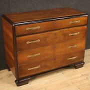 Dresser Antique Style Art Deco Furniture Commode Chest Of Drawers In Wood