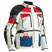 Rst Pro Series Adventure-x Airbag Ce Moto Motorcycle Textile Jacket Blue / Red