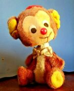 Rare Antique Mohair Bobble Head Toy Mouse 5 Tall Ray Rohr Cosmic Artifacts