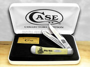 Case Xx Holy Bible Psalms 1133 Yellow Synthetic Trapper 1/500 Pocket Knives 1