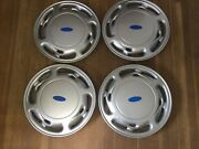 Four Aftermarket Hubcaps 15andrdquo
