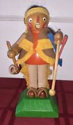 Very Rare Vintage Steinbach Native American Sioux Indian Smoker Made In Germany