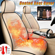 12v Electric Car Heating Heated Seat Cover Pad Mat Thermal Winter Warmer