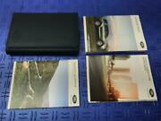 2018 Land Rover Discovery Sport Owners Manual Booklet Set W/ Blue Leather Case