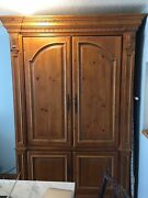Ethan Allen Tv Media Cabinet Armoire Chest. Rare Find Large Storage