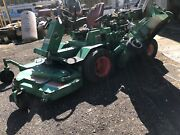 Cushman Randsomes 6150 10and039 Three Mower Machine 4 Parts Or Repair Only 648hrs