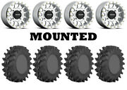 Kit 4 Sti Outback Max Tires 32x9.5-14 On Method 401 Beadlock Machined Wheels Can