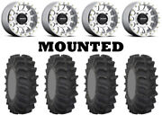 Kit 4 System 3 Xm310 Tires 29x9.5-14 On Method 401 Beadlock Machined Wheels Can