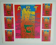 Rick Griffin Stanley Mouse Kelley Poster 1987 Jerry Garcia Handbill Psych Print