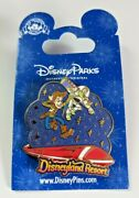 Dlr - Toy Story Buzz Lightyear And Woody Flying Over Monorail - Pin 106799