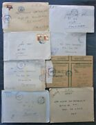 Lot Of 32 Letters And 30 Photographs Of A Female Soldier From Palestine Ww2