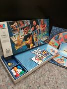 Classic 1990and039s Mb Games Wwf Wrestling Challenge Boardgame - Complete