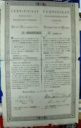 6 Loan Russian Government. 1000 Rubles Bond, Dated 1837 Amsterdam