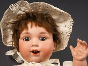Armand Marseille Am 980 Drgm Doll Bisque Head Compo Body Antique Very Unusual