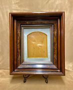 Incredible Late 1800s Classic Antique Victorian Eastake Deepwell Layered Frame