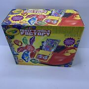 Crayola Melt And039n Mold Factory 74-7060 Recycle Your Old Crayons Works
