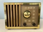 1946 Rca Tube Radio With Bluetooth And Fm Options