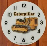 14-3/8 Caterpillar Round Glass Replacement Clock Face For Pam Clock Free Ship