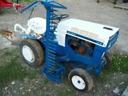 Sears Suburban 12hp 6-speed With Sicklebar Mower And 3-point Hitch Plow Nice