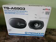 Old School Pioneer Ts-a6903 6x9 Flush Mount Car Stereo Panel Speakers