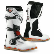 Tcx New Terrain 2 Motorcycle Motorbike Off Road Boots White