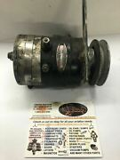 Delco-remy Generator Model 1101878, S/n 6017, 12 Volt With Bracket And Pulley