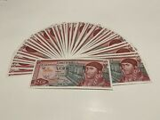 1976 Mexico Lot 50 Notes 20 Pesos Mexican Banknotes Unc Serie Bnbr And Bs