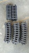 Scientific Toys G-scale Plastic Train Tracks 29 Curved 14 Straight Tracks Only
