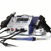 Multifunctional Rework Station Hot Air Gun Soldering Iron Soldering With Suction
