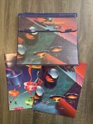 Vtg 90andrsquos Mead Trapper Keeper Binder Designer Series Abstract Liquid Metal 21900