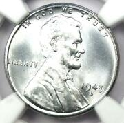 1943-s Lincoln Wheat Cent Steel Penny 1c - Certified Ngc Ms68 - 4300 Value