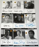 Gerry Anderson Space 1999 Series 4 Unstoppable 2020 Set Of 22 Type A Proof Autos
