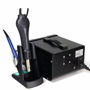 Hot Air Gun Soldering Iron Rework Station With 5a 30v Dc Power Supply 3 In 1 New