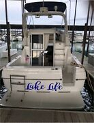 Custom Boat Decal Name Sticker 10 X 40 Personalized Decal Lettering Pontoon