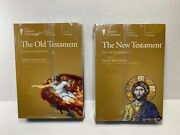 The Great Courses The Old Testament And New Testament Dvds And Guide Book Set