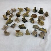 37 Vintage Collectible Wade Red Rose Tea Figurines Lot Deal Animals Fairy Tales