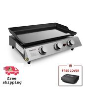 Table Top Royal-griddle Portable Flat Top Grill Outdoor Cooking Bbq Food Truck