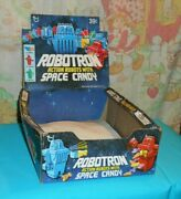 Vintage Topps Empty Retail Store Display Box Only From Robotron Candy Containers