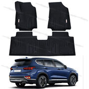 All Weather Floor Mats Liners Rubber Tpe For 2018-2021 Chevrolet Equinox Unique