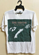 Vintage 80and039s The Smiths The Queen Is Dead Rock Tour Concert T-shirt Morrissey