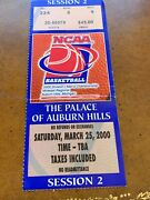 2000 Ncaa Basketball Tournament Midwest Ticket Ucla V Maryland Terrapins