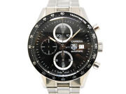 Tag Heuer Carrera Automatic Cv2010-3 Chronograph Date Menand039s Wl26438