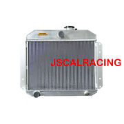 4row Aluminum Radiator For Willys Aero Comet 52-53 62mm 2.6l Mt Only 5153 Spawon