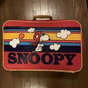Snoopy Peanut 1970 Vintage Handbag Collectible Genuine Free Shipping From Japan