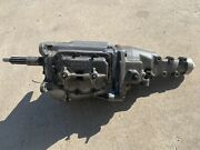 Chevy Gm Borg Warner T10 4 Speed Transmission Corvette Impala J17001