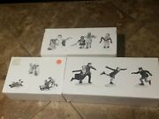 Dept 56 The Heritage Village Collection Skating Party Snow Children Playing S